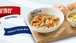 Find Take Aways || John Dorys Chicken and Chorizo Bowl Promotion