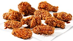 KFC - 10 Dunked Wings Special Deal