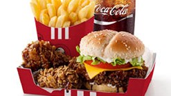 Find Take Aways || KFC Mega Dunked Burger Meal