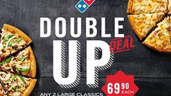 Domino's - Double Up Promotion