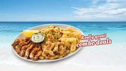 Find Takeaways || John Dorys Prawns and Calamari Deal