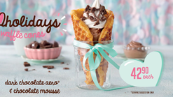 Find Take Aways || Milky Lane Waffle Cones