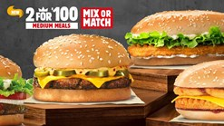 Burger King 2 For R100