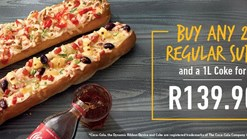Find Takeaways || Debonairs Pizza 2 Regular Subs Promo
