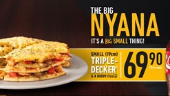 Find Take Aways || Debonairs Pizza Big Nyana Deal
