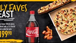 Find Takeaways || Debonairs Pizza Family Faves Feast