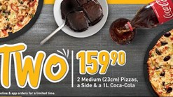 Find Take Aways || Debonairs Meals For Two Deal