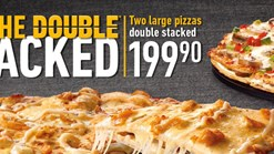 Find Take Aways || Debonairs Pizza On The Double Stacked