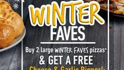 Find Take Aways || Debonairs Pizza Winter Faves Deal