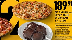 Debonairs Pizza - Sweet Deal For 2