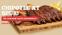 Find Take Aways || Spur - Chipotle Ribs Special