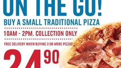 Find Takeaways || Domino's Lunchtime On The Go Promo