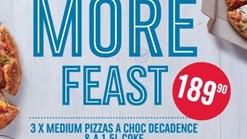Find Take Aways || Domino's Pizza Sum More Feast