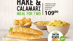 Find Take Aways || Fishaways Hake & Clamari Meal For Two