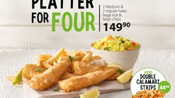 Find Take Aways || Fishaways Platter For Four