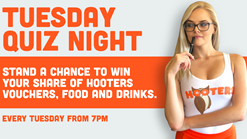 Hooters Tuesday Quiz Nights