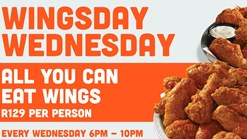 Hooters - Wingsday Wednesday Special