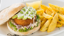Find Takeaways || John Dory's Hake Burger Special