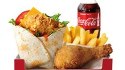 Find Take Aways || KFC Wrapsta Box With Buddy Bottle Deal