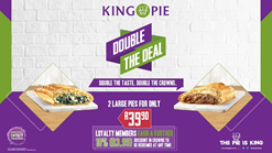 Find Take Aways || King Pie Double The Deal