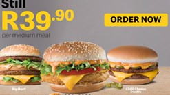 Find Take Aways || McDonalds Medium Meal Promotion