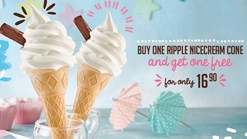 Milky Lane Buy One Ripple Nicecream Get One Free