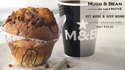 Mugg and Bean Filter Coffee and Giant Muffin Promotion
