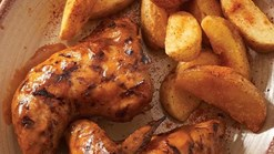 Find Take Aways || Nando's Half Chicken and and Single Side