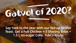 Nando's Full Chicken 3 Sharing Sides and Coke Deal
