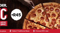Find Take Aways || Pizza Hut - EPIC Pizza Promotion