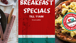 Find Takeaways || Panarottis Breakfast Specials