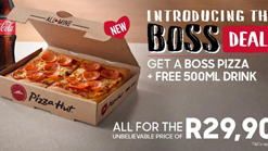 Pizza Hut The Boss Deal