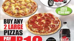 Find Take Aways || Pizza Perfect R12 2L Coca-Cola Zero Deal