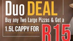 Find Take Aways || Pizza Perfect Duo Deal
