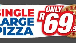 Find Take Aways || Roman's Pizza Any Single Large Pizza Deal