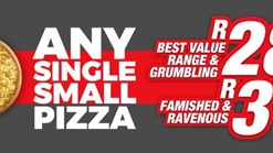 Find Takeaways || Romans Any Single Small Pizza Special