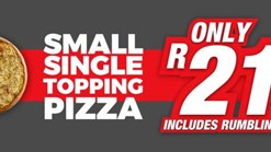 Find Take Aways || Romans Small Single Topping Pizza