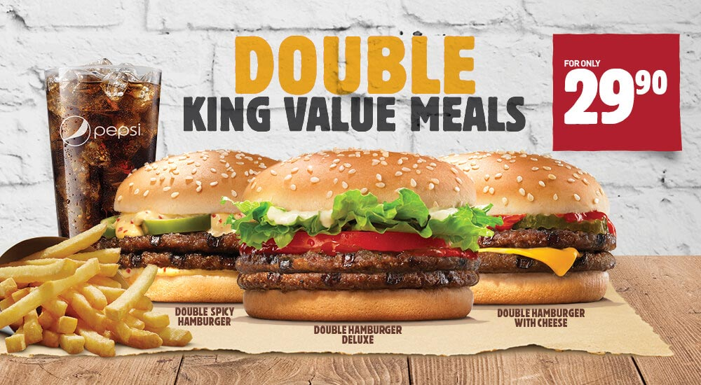 Hungry Africans Burger King Double Val...