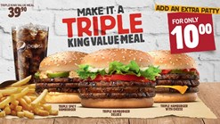 Find Take Aways || Burger King Triple Value Meal