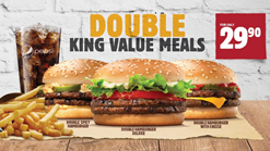Find Take Aways || Burger King Double king value