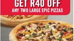 Find Take Aways || Domino's Pizza R40 Off
