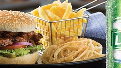 Find Take Aways || Spur New Monday Burger Special