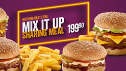 Find Take Aways || Steers Mix It Up Sharing Meal