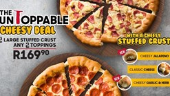 Find Take Aways || Pizza Hut The Untoppable Cheesy Deal