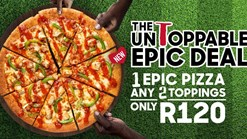 Find Take Aways || Pizza Hut UnToppable Single Epic Deal