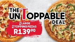 Find Takeaways || Pizza Hut Untoppable 2 Large 2 Topping Pizza Deal