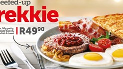 Find Takeaways || Wimpy Beefed Up Brekkie Deal