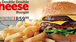 Find Takeaways || Wimpy Double Double Cheese Burger Deal