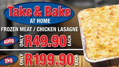 Find Takeaways || Roman's Take & Bake Promotion