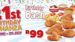 Find Takeaways || Hungry Lion Birthday Bash Deal
